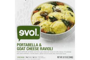 evol. Portabella & Goat Cheese Ravioli
