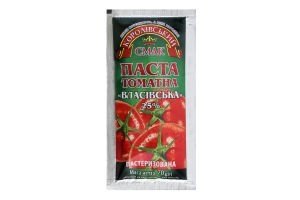 Паста томатна 25% Власівська Королівський смак м/у 70г