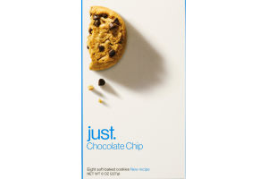 Just Cookies Chocolate Chunk - 6 CT