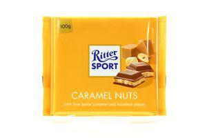 Шоколад Caramel Nuts Ritter Sport 100г