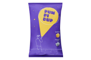 Попкорн зі смаком морської солі Pumpidup м/у 90г