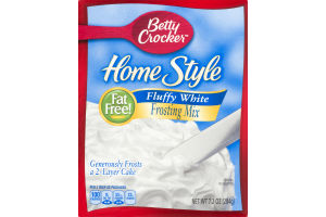 Betty Crocker™ Home Style Frosting Mix Fluffy White