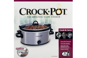 Crock-Pot Cook & Carry - 4 Quart