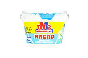 Масло 72.5% крестьянское сладкосливочное Гормолзавод №1 cт 200г