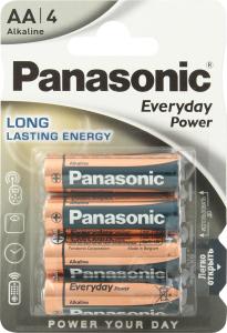 Батарейки АА LR6 Long lasting energy Panasonic 4шт