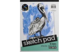 Top Flight Sketch Pad - 50 Sheets