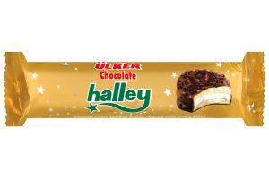 Печенье-сэндвич шоколадное с маршмеллоу Chocolate Halley Ülker м/у 77г