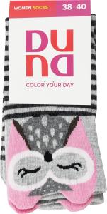 Шкарпетки жіночі Duna №3003 23-25 світло-сірий
