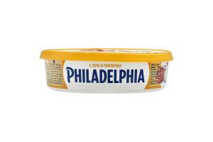 Сир 57% з цибулею і перцем Original Philadelphia п/у 175г