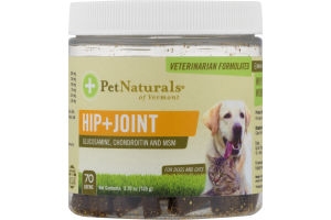 PetNaturals of Vermont Hip+Joint Chews - 70 CT