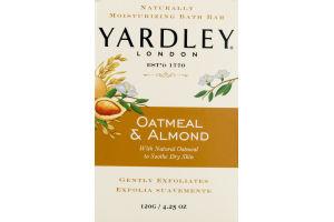 Yardley London Naturally Moisturizing Bath Bar Oatmeal & Almond