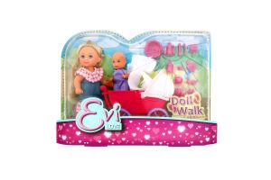 Лялька для дітей від 3-х років №6241 Doll Walk Evi love Simba 1шт