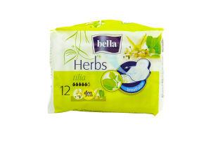 Прокладки Herbs Tilia Bella 12шт