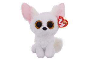 Игрушка мягкая для детей от 3лет 15см №36225 Белая лиса Fennec Beanie Boo's TY 1шт