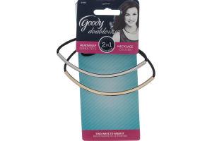 Goody Doublewear 2 IN 1 Headwrap Necklace