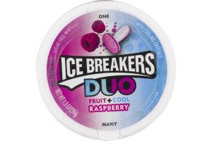ICE BREAKERS DUO Raspberry Flavored Mints, 1.3 oz
