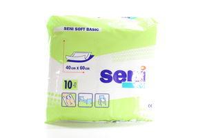 Пелюшки гігієнічні Seni Soft Basic універсальні 40*60см 10шт