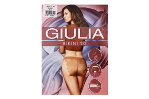 Колготки жіночі Giulia Bikini 20den 3-M daino