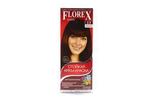 Крем-краска для волос Шоколад №2.3 Florex Super