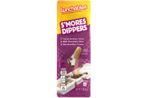 Lunchables Snack Combinations S'mores Dippers