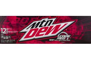 Mtn Dew Code Red - 12 PK