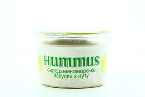 Закуска Hummus з нуту з оливками 250г