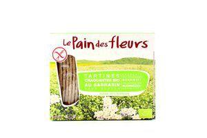 Хлібці LePaindesFleurs органічні безглютенові з гречки 150г
