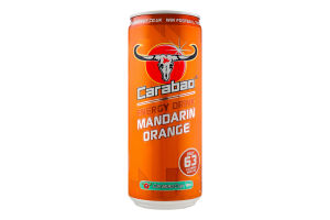 Напиток энергетический Carabao Mandarin Orange б/а