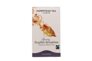 Чай черный Hampstead tea English Brekfast
