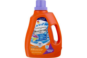 Ahold Quad-Active Technology Laundry Detergent Wildflower Breeze