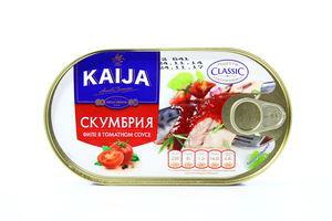 Скумбрия в томатном соусе Kaija 170г