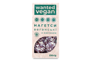Нагетси заморожені веганські з насінням Wanted vegan к/у 230г