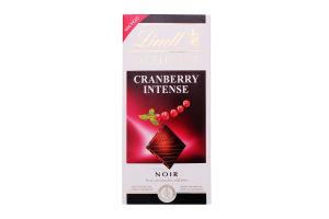 Шоколад темний Cranberry Intense Excellence Lindt к/у 100г
