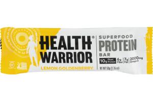 Health Warrior Superfood Protein Bar Lemon Goldenberry