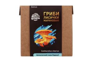Грибы маринованные Лисички Дари Гуцульщини к/у 348г