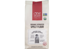 One Degree Organic Foods Organic Sprouted Spelt Flour