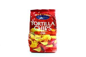 Кукурузные чипсы со вкусом чили Santa Maria м/у 200г