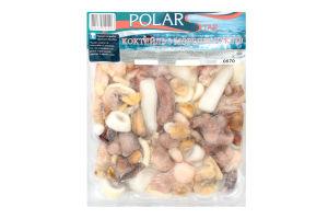 Коктейль из морепродуктов варено-мороженый Polar Star в/у 400г