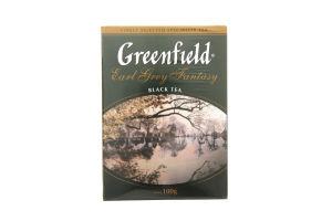 Чай черний листовой Earl Grey Fantasy Greenfield 100г
