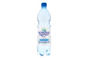 Вода питна природна негазована Корона Карпат п/пл 1л