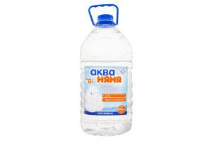 Вода для детей от 0мес питьевая негазированная Аква Няня п/бут 6л