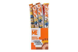 Шоколад молочний з молочною начинкою і бісквітом Despicable Me Kids Любимов м/у 38г