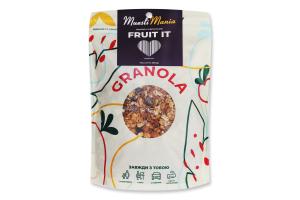 Сніданки сухі Гранола з фруктами Fruit It Muesli Mania д/п 350г