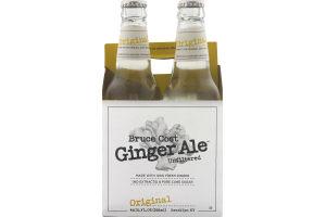 Bruce Cost Ginger Ale Unfiltered Original - 4 PK