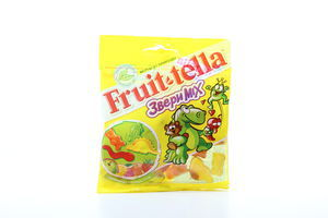 Жевательный мармелад Звери mix Fruit-tella 70г