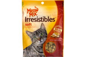 Meow Mix Irresistibles Soft with White Meat Chicken