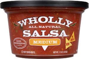 Wholly Salsa Medium All Natural