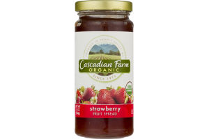 Cascadian Farm Organic Strawberry Fruit Spread