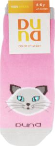 Шкарпетки дитячі Duna Color your day №4201 18-20 рожевий