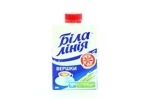 Сливки 10% MilkLife Белая линия 200г т/п